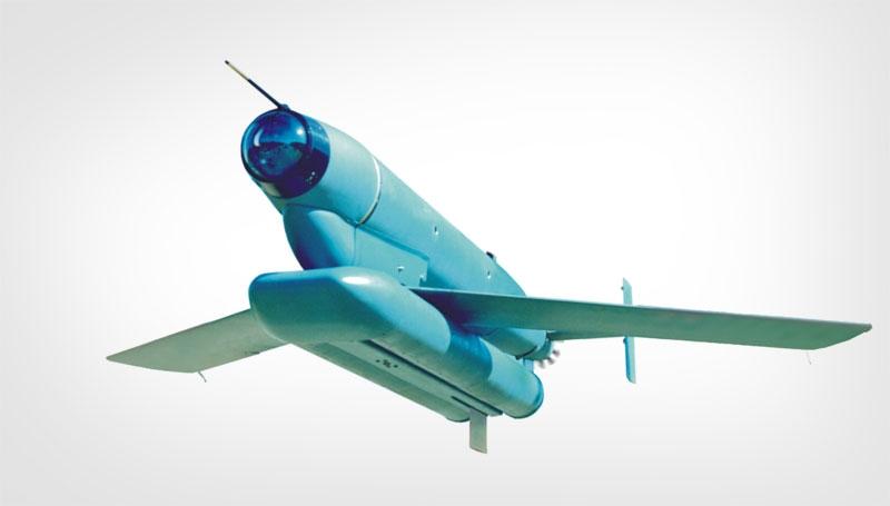The Denel Raptor II glide-bomb. Photo credit: Denel Dynamics