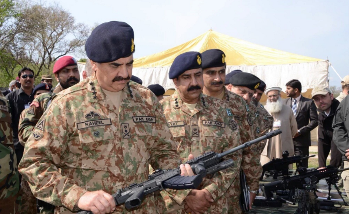 is the pakistan army looking for a new rifle