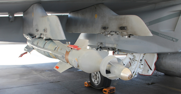 Lockheed Martin Is Testing Dual Mode Laser Guided Bombs