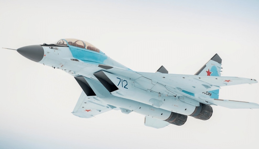 The contract for the first six MiG-35 fighters 87