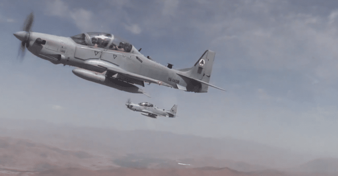 Afghanistan receives new batch of A-29 Super Tucano