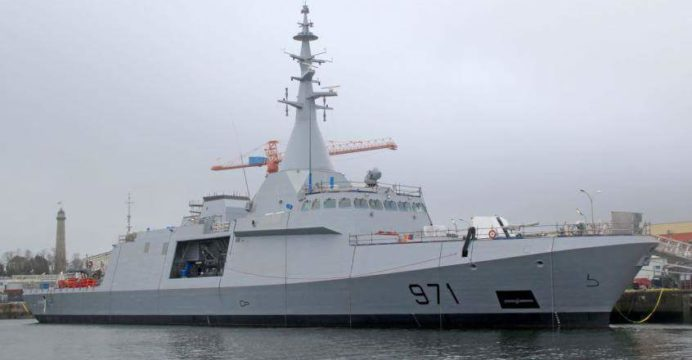First Egyptian Navy Dcns Gowind 2500 Corvette Launched For