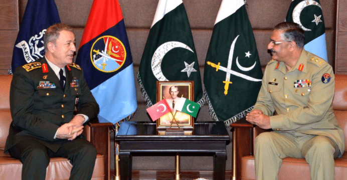 Turkey and Pakistan eager to enhance bilateral defence ties