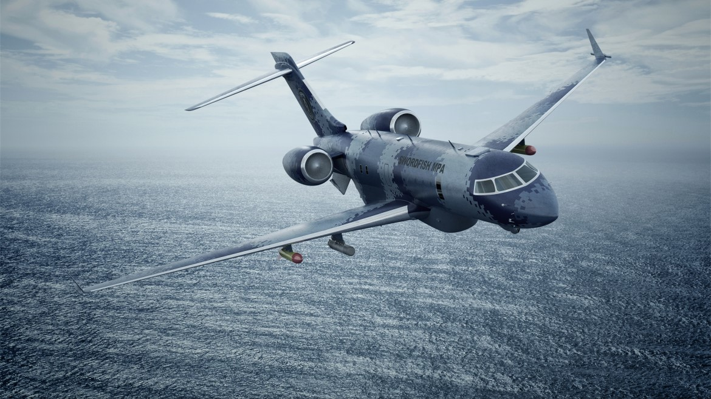 Profile Saab Swordfish Maritime Patrol Aircraft Mpa