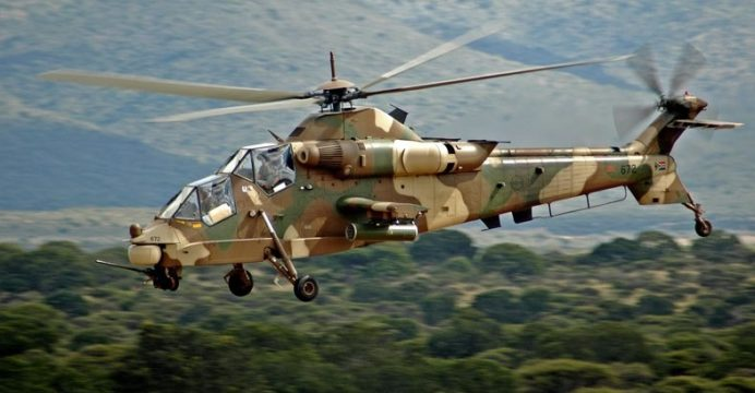 Denel-Rooivalk-Attack-Helicopter-Flying