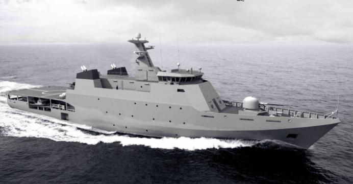 Pakistan orders offshore patrol vessel from Netherlands' Damen