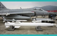 The JF-17's air-launched rocket option (CM-400AKG)