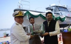 Karachi Shipyards & Engineering Works  delivers two Damen Stan Patrol 1605 FRP patrol boats to Pakistan Customs