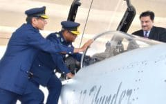 Outgoing Pakistan Air Force Chief: JF-17 Block-III design finalized