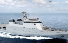 Steel Cutting Ceremony Held for Pakistan's First Damen 1800 OPV