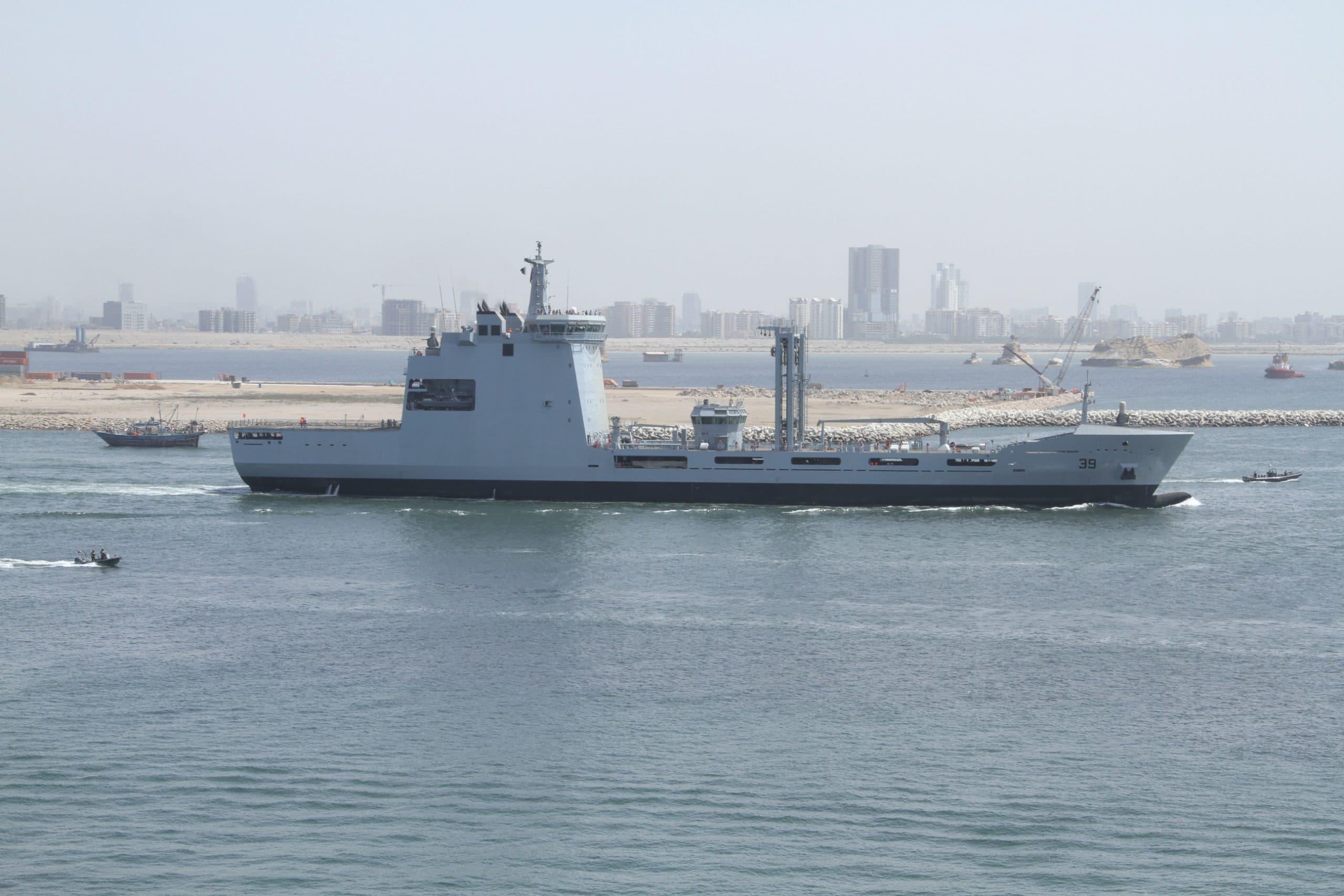 Supply Tanker for Pakistani Navy 89