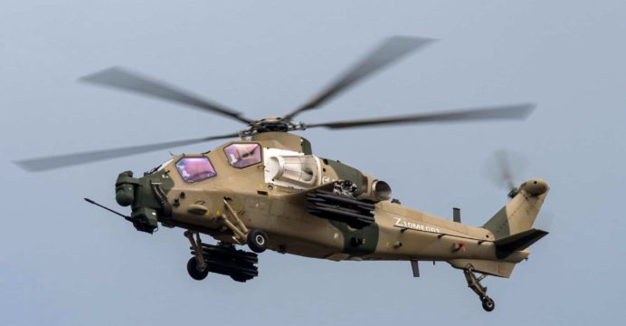 Z-10ME: Photos Emerge of New Z-10 Attack Helicopter Variant