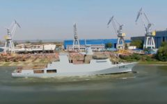 Pakistan Navy's Damen Corvette / Offshore Patrol Vessel