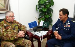 EU Military Committee Chairman Makes Official Visit to Pakistan