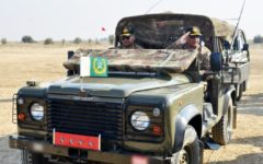 Pakistan Army Conducts Training Exercise in Bahawalpur