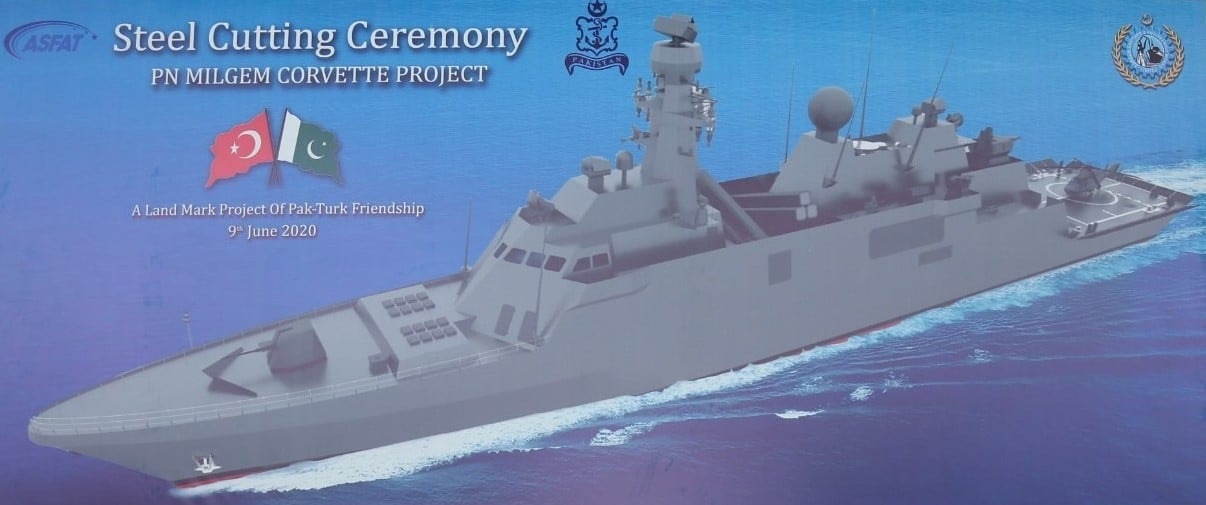 Picture-of-Pakistan-MILGEM-Corvette-Frigate-Karachi-Shipyard-Engineering-Works-KSEW