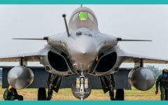 Indian Air Force Inducts First Five Dassault Rafale Fighters