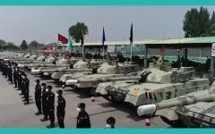 Pakistan Inducts Batch of al-Khalid-I Tanks